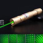10 Miles Green 5mW Powerful Laser Pointer Pen Light Visible Beam Zoom Burning