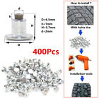 400Pcs Screw in Tire Snow Spikes Car Truck Tires Snow Chains Studs Winter Safety