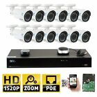 GW 16 Channel H.265 NVR 4MP 2592 x 1520 Power Over Ethernet IP Camera System,