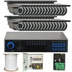 GW Security 32CHE15 32 Channel H.264 960H Realtime DVR with 32 x Effio-E Camera