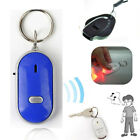 Anti-Lost Find Key Locator Keychain Whistle Sound Control Keyring Crazy Help New
