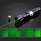 10 Miles Tactics 5mw Green Laser Pointer Pen Light 532nm Visible Beam Burn Focus