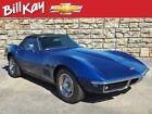 Corvette convertible 1968 Chevrolet Corvette convertible 100036 Miles International Blue Convertible