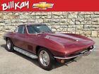 1967 Chevrolet Corvette -- 1967 Chevrolet Corvette  29373 Miles Maroon Coupe  4-Speed Manual