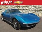 1969 Chevrolet Corvette -- 1969 Chevrolet Corvette  51538 Miles Lemans Blue Coupe  4-Speed Manual