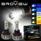 BroView M5 9008 H13 Cree+Philips LED High Low Beam Headlamp OEM Replace for Ford
