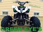 KFX700 650 Brutforce Green Headlight Covers