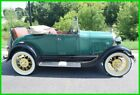 1929 Ford Model A ROADSTER 1929 MODEL A ROADSTER RUMBLE SEAT Pre War Oldtimer barn find estate survivor
