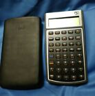 HP 10bll Financial Calculator Black with Black Case - USED , GOOD CONDITION