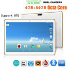 Dual Sim Dual Camera 10.1 Inch 4G + 64G Android 6.0 Phone Wifi Phablet Tablet PC