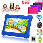 Quad Core 7'' Tablet 8GB HD Android 4.4 Camera WiFi Bundle Best Gift For Kids US