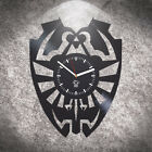 Legend Of Zelda Handmade Vinyl Clock Wall Art Best Gift For Gamer Home Decor