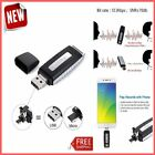 3in1 8GB Spy Recording Device OTG USB Spy Voice Lecture Recorder Mini Mic Audio