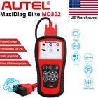 Autel MaxiDiag Elite MD802 DS Model Auto Diagnostic Tool Code Reader Scanner US
