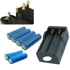 6PCS 3.7V 2000mAh 14500 Li-Ion Rechargeable Batteries For Torch Toys + Charger