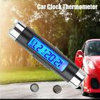 New Car LCD Clip-on Digital Backlight Automotive Thermometer Clock Calendar WELL