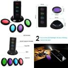 Wireless Remote Lost Key Finder w LED Flashlight 1 RF Transmitter 4 Receivers US