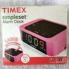 Timex Simple Set Alarm Clock Pink