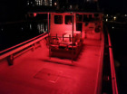 4x Red LED Boat Light Waterproof 12v Outrigger Transom Underwater
