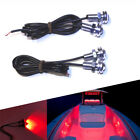 4x Red LED Boat Light Waterproof 12v Outrigger Spreader Transom Marine Dock