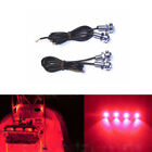 4x Red LED Boat Light Waterproof 12v Outrigger Spreader Transom Marine Duck Lite