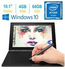 """2017 Newest Lenovo Yoga Book 10.1"""" FHD Touch IPS 2-in-1 Convertible Tablet PC..."""