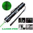 1mw 532nm Visible Green Beam Light Super Bright Laser Pointer Pen &Star Cap