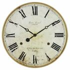 Aspire Home Accents Leniel Large 30 in. Wall Clock, Gold