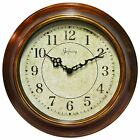 The Keeler 14 in. Wall Clock by Infinity Instruments, Brown
