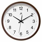 Infinity Instruments 14 Finish 14W x 14H in. Wall Clock