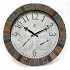 Infinity Instruments-The Inca-Indoor/Outdoor 18 in. Wall Clock