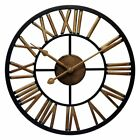 Infinity Instruments Micro Fusion Wall Clock, Antique Copper Finish