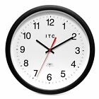 Infinity Instruments Time Keeper 14-Inch Wall Clock, White