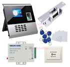 Biometric Fingerprint Access Control System & chargeable Battery Strike NO Lock
