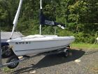 2003 Hunter 170 sail boat with trailer dinghy racer