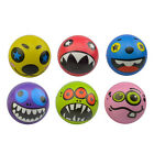Strange Face-Ball Hand Wrist Finger Exercise Stress Relief Therapy Squeeze Ball&