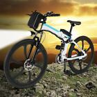 "26""Foldable Electric Mountain Bicycle Bike Ebike W/Lithium MY8L 250W"