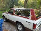 1985 Dodge Ramcharger SE Prospector 1985 Dodge Ramcharger SE Prospector (retro SUV like Bronco or Blazer)