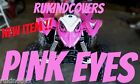 POLARIS PREDATOR 90 Outlaw HEAD LIGHT COVERS PINK EYE'S  NEW ITEM MUST SEE!!