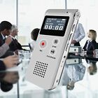 8GB Digital Voice Recorder Rechargeable Dictaphone Audio MP3 Music Player USB US