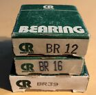 NOS, CR Industries, BR-12, BR-16, BR-39 Wheel Bearings and Races. Lot of 3.