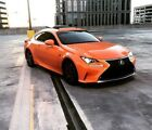 2016 Lexus RC 200T Fsport Beautiful Garage Kept Molten Pearl Lexus RC 200T- RARE COLOR