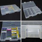 Useful Hard Plastic Battery Holder Storage Box AA AAA Battery 17.1*25.3*3.6cm