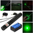 10Miles G303 Green Visible Light Tactical Laser Pointer Pen Lazer 18650 Battery