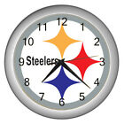 PITTSBURGH STEELERS Carbon wall clock