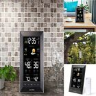 Vertical Wireless Color Weather Station Theme Temperature Alerts Large Display