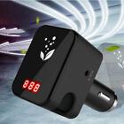 Mini Negative Ions Fresh Air Purifier Cleansing Dual USB Charging Car Charger
