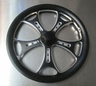 "Jr. Dragster Black Agitator 16"" Front Wheels Set of 2 with Tires & Tubes Mounted"