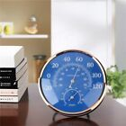 New Large Round Fahrenheit Celsius Thermometer Hygrometer Humidity Monitor Meter