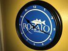 **Robalo Marine Fishing Boat Marina Garage Man Cave Black Wall Clock Sign